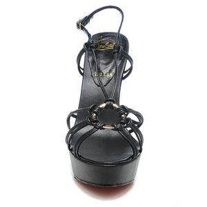 Christian Louboutin Discolilou 140 ring sandals